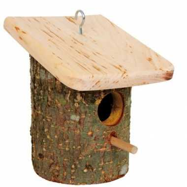 Boomschors vogelhuisjes