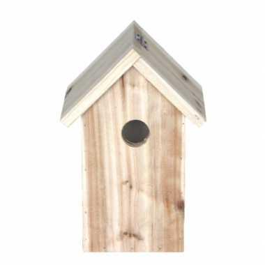 Houten vogelhuisje 23 cm
