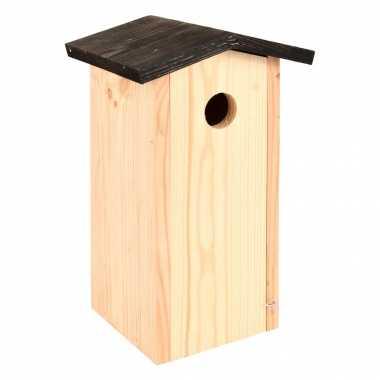 Vogelhuisje/vogelhuisje koolmees 28.3 cm