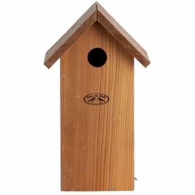 Vogelhuisje/vogelhuisje koolmees 30 cm