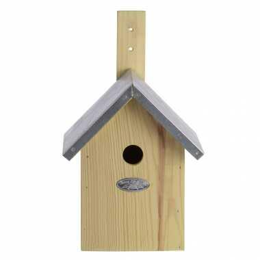 Vogelhuisje/vogelhuisje pimpelmees / pimpelmeesjes 32 cm