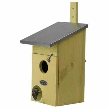 Vogelhuisje/vogelhuisje spreeuwen 39 cm