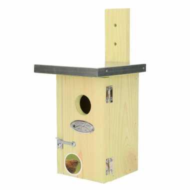 Vogelhuisje/vogelhuisje winterkoning 25 cm