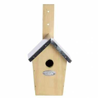 Vogelhuisje/vogelhuisje winterkoning 30 cm