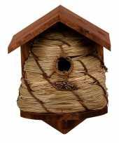 Vogelhuisje vogelhuisje bijenkorf 25 8 cm